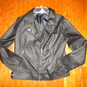Disney Special Edition D Signed Girls Moto Jacket
